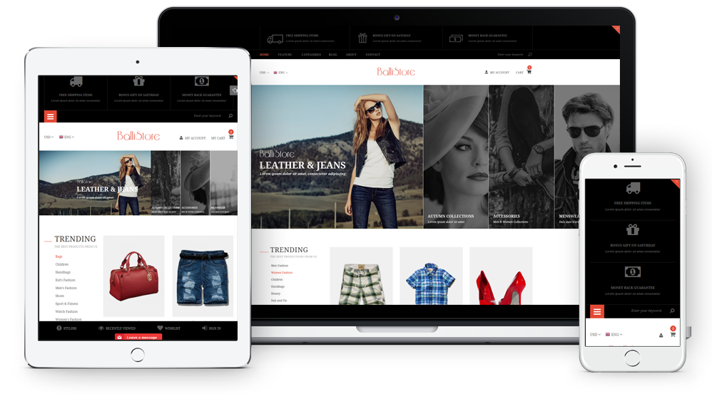 Ballishop - Fully Responsive