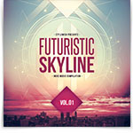 Futuristic Skyline CD Cover Artwork
