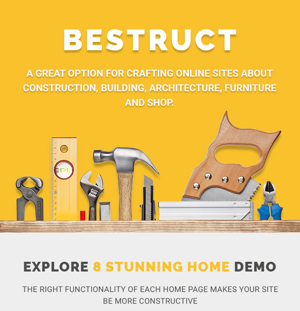 BeStruct - Construction & WooCommerce WordPress Theme - 1