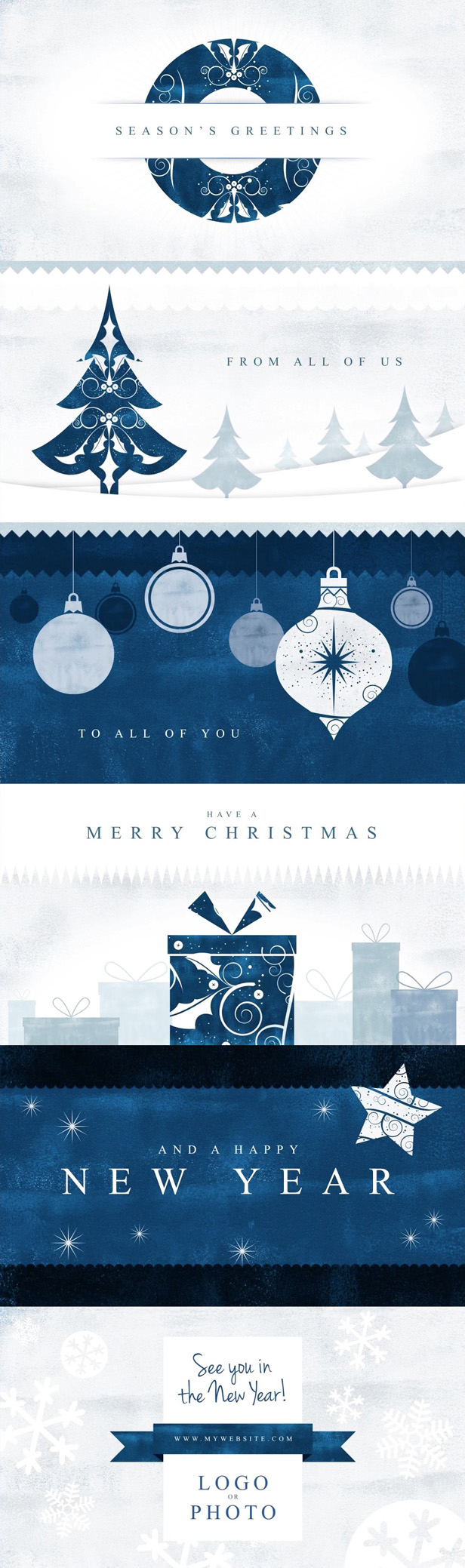 Parallax Christmas Greetings - 1