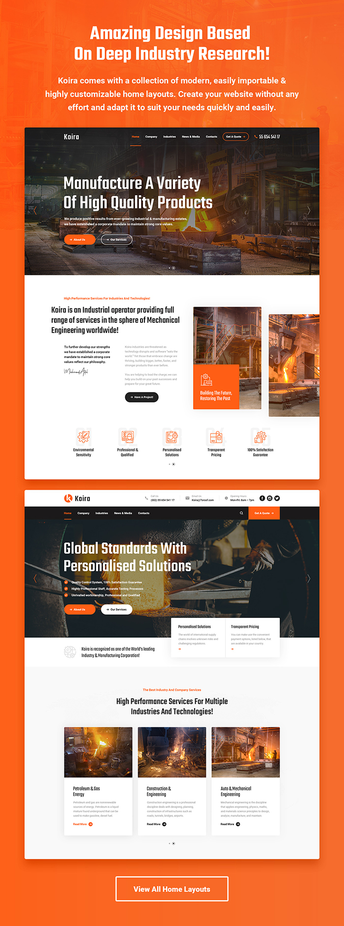 Koira - Industry and Manufacturing HTML5 Template - 6
