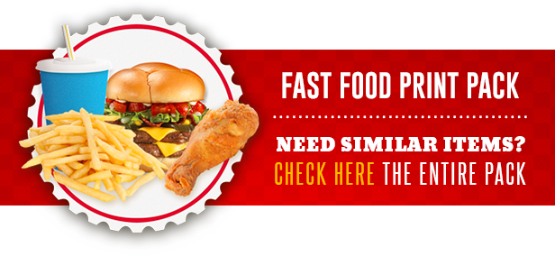 Restaurant Fast Food Menu Flyer - 1