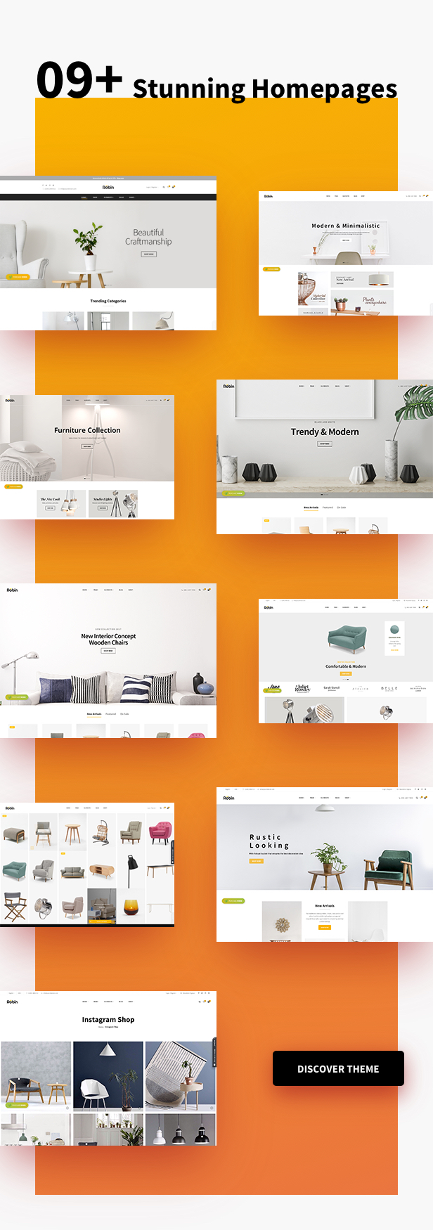 Furniture Shop WooCommerce WordPress Theme - Shopping layouts & Options
