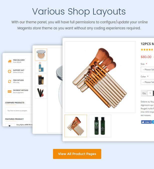 Market - Premium Responsive Magento 2 & 1.9 Store Theme