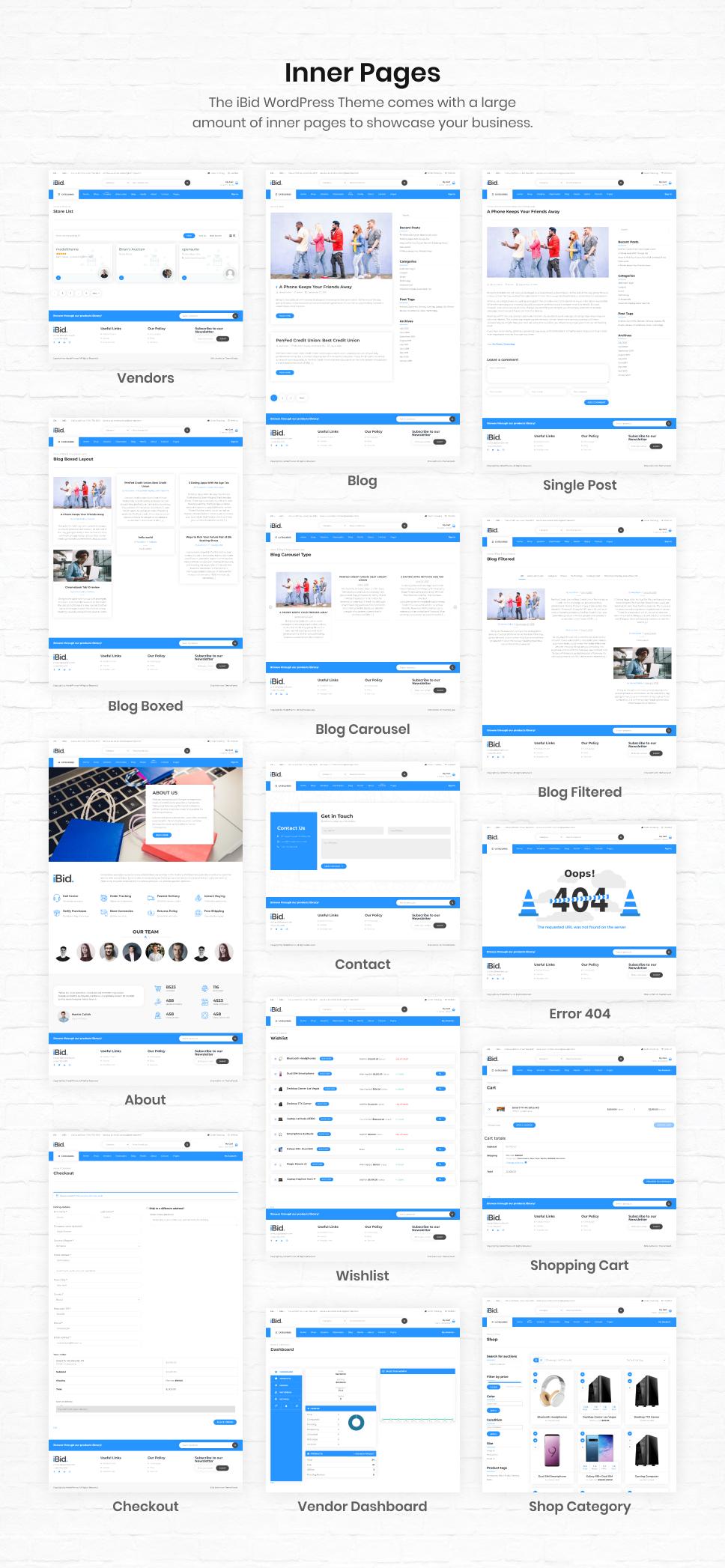 iBid - Multi Vendor Auctions WooCommerce Theme - 32