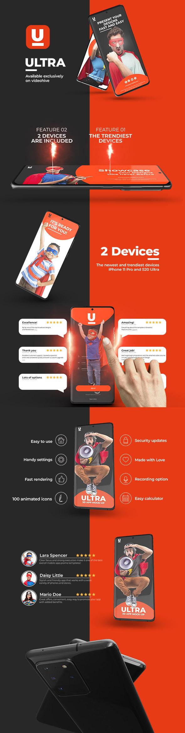 Ultra App Promo - 5