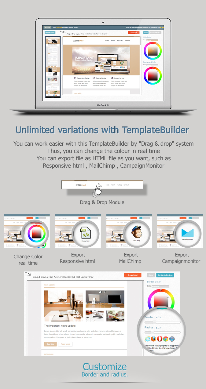 IMPORTANT-Responsive Email Template by akedodee | ThemeForest