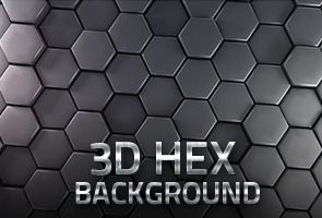 3D HEX Background
