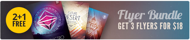 Geometric Flyer Bundle Vol.07