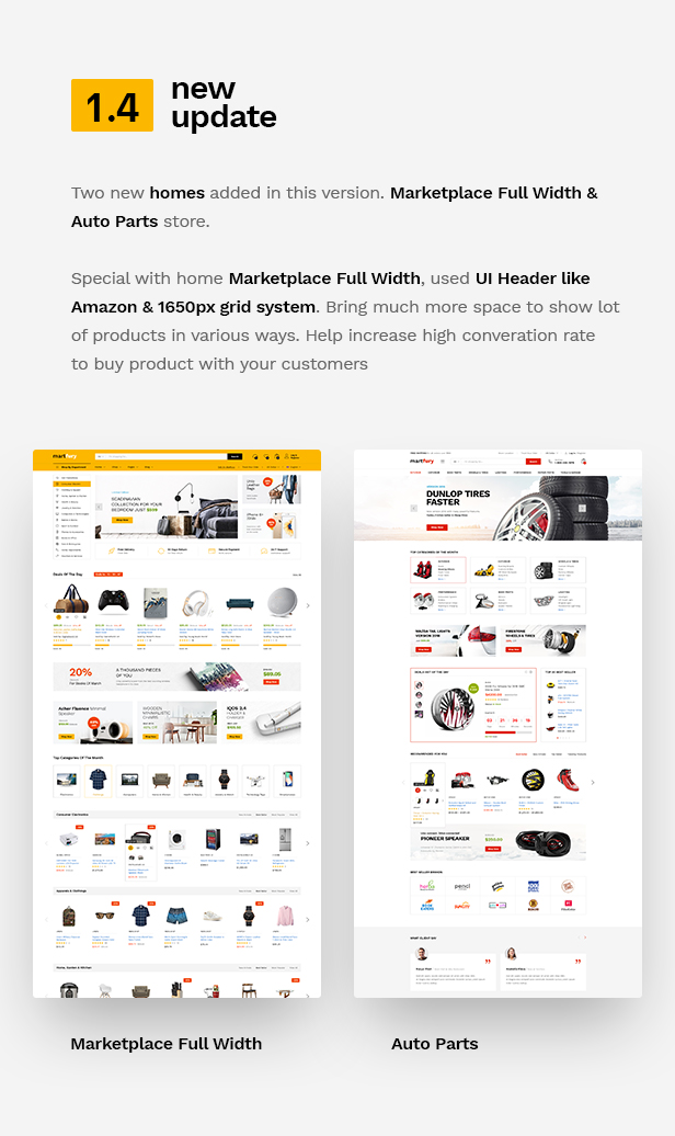 Martfury - WooCommerce Marketplace WordPress Theme - 10