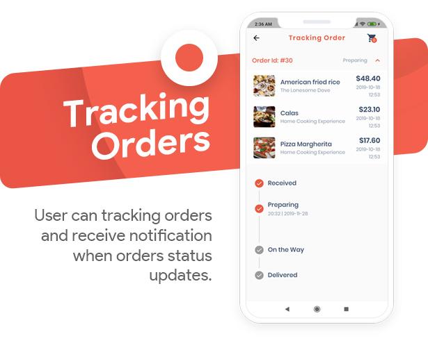 Food Delivery Flutter   PHP Laravel Admin Panel - 8