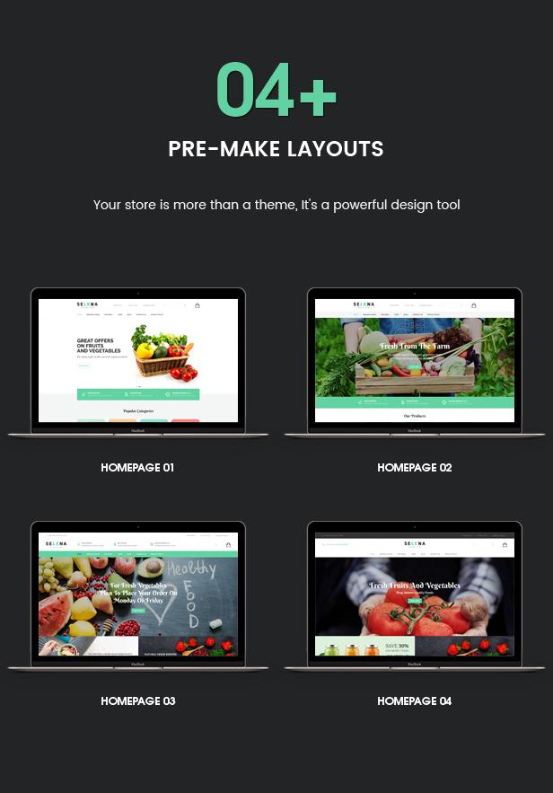 Selena - Organic Food Store Theme for WooCommerce WordPress 41