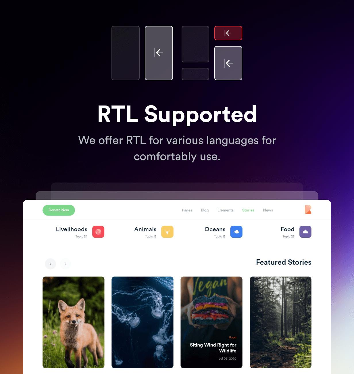 Rakon - Creative Multi-Purpose Landing Page HTML5 Template (RTL Supported) - 9