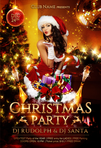 New Year Party Flyer Template - 10