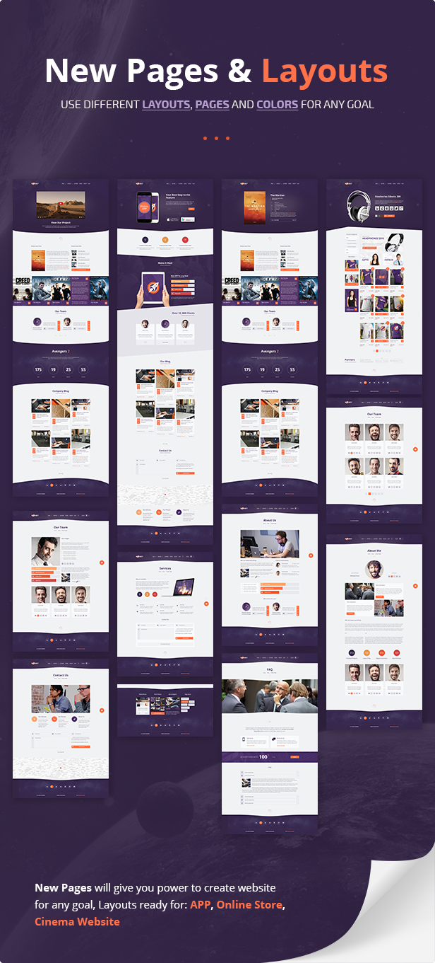 Favori Rocket - Creative Multipurpose WordPress Theme by dan_fisher  OU64
