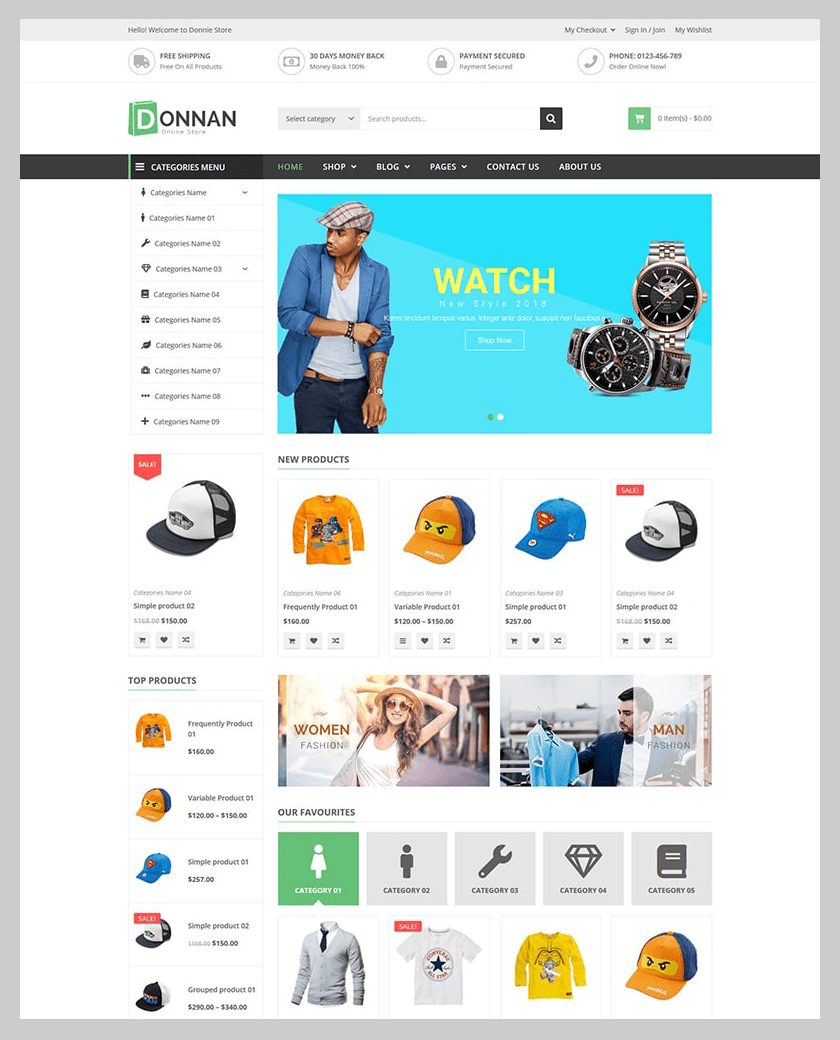 VG Donnan - Multipurpose Responsive WooCommerce Theme - 7