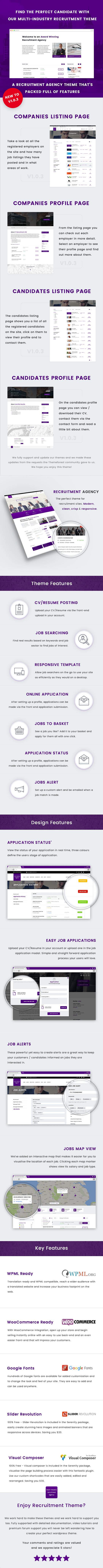 Recruitment Agency - Multi Industry Responsive WordPress Theme - 5