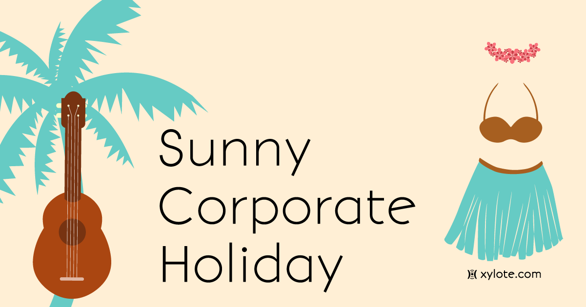 Sunny Corporate Holiday