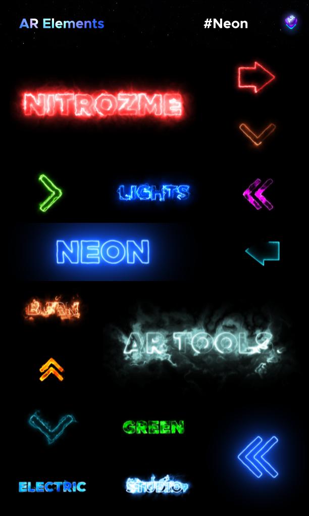 AE脚本-500多个人工智能高科技科幻HUD元素RGB光束烟雾描边效果AR动画工具包 AR Tools for Win/Mac破解版 V3插图16