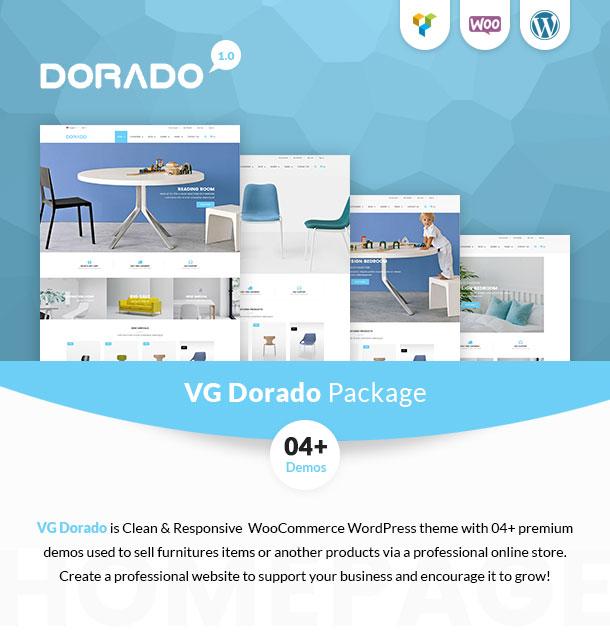 VG Dorado – Tema responsivo de WooCommerce para muebles – Plantillas ...