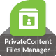 files manager add-on