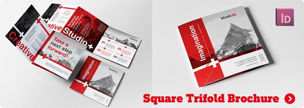 Swiss Style Bifold Brochure - 4