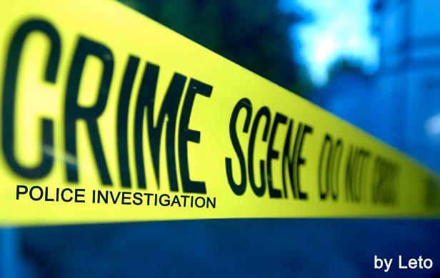 Crime Scene Police Investigation