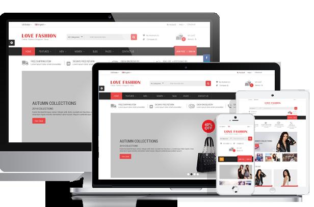 OpenCart Fashion Theme - Responsive
