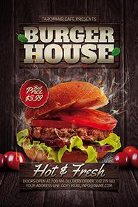 104-Burger-house-flyer