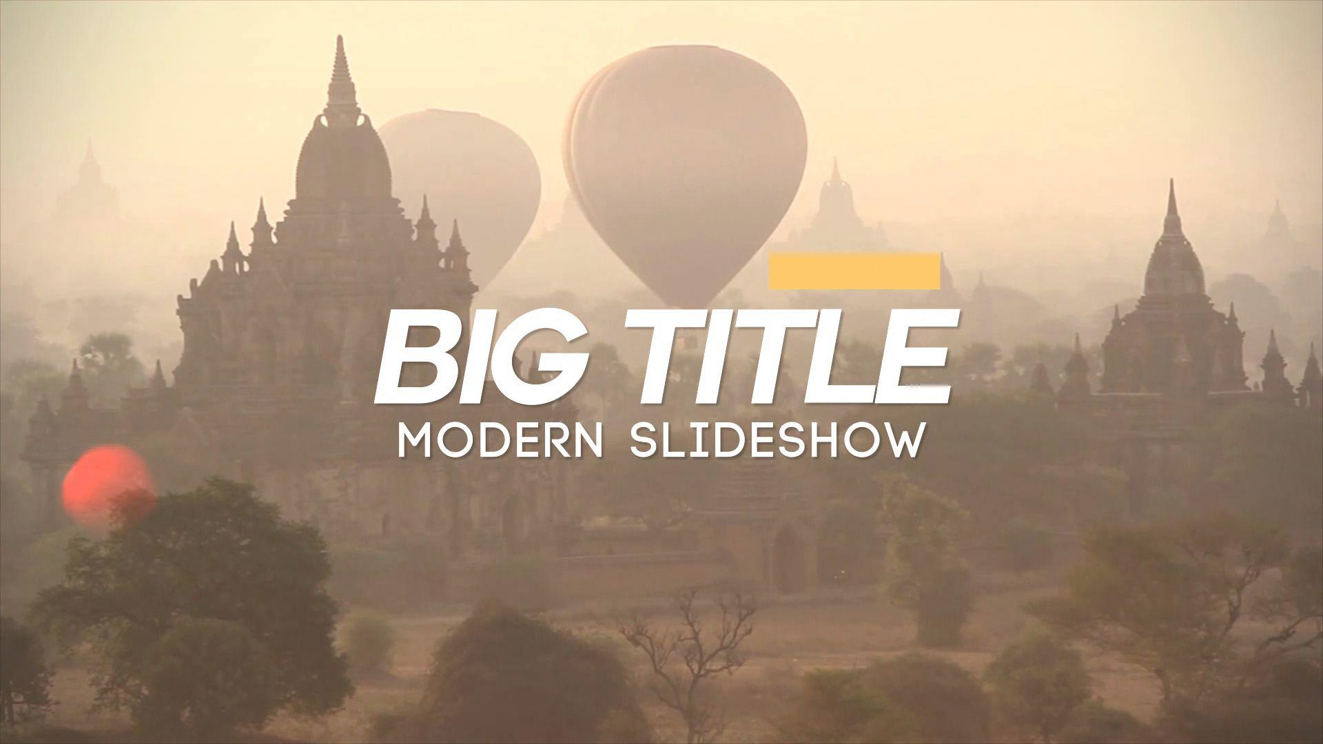 Big Title Slideshow - 7