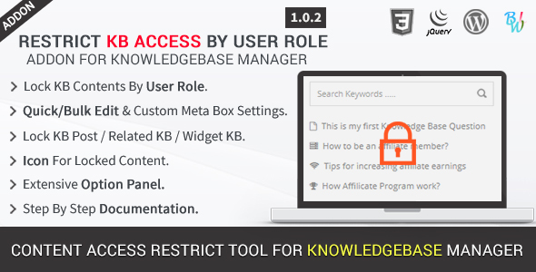BWL Knowledge Base Manager - 17
