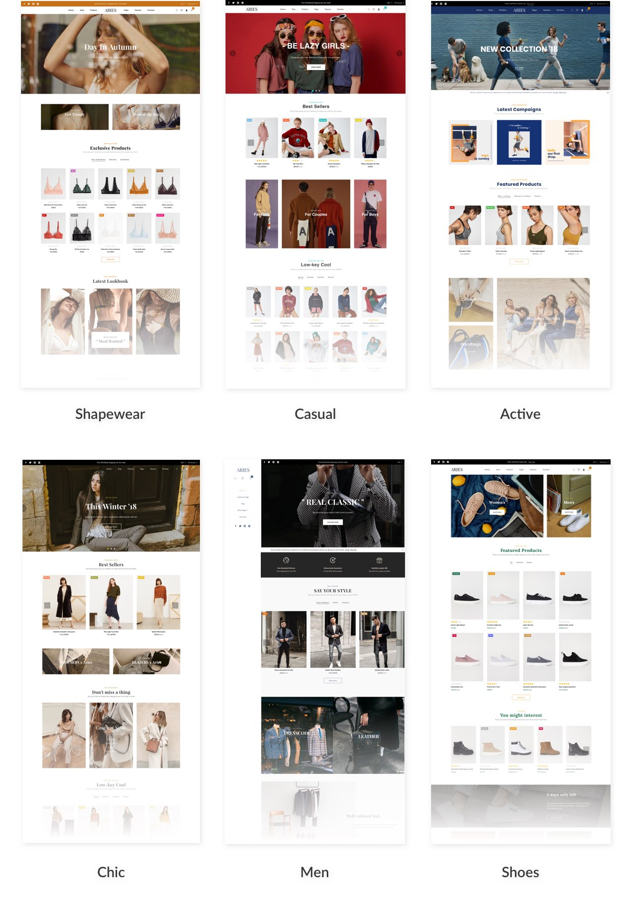 ARIES - Everything for a Shopify Fashion theme - 3