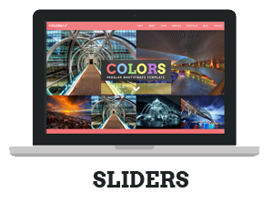 Colors - Paralax Bootstrap HTML5 Template - 8