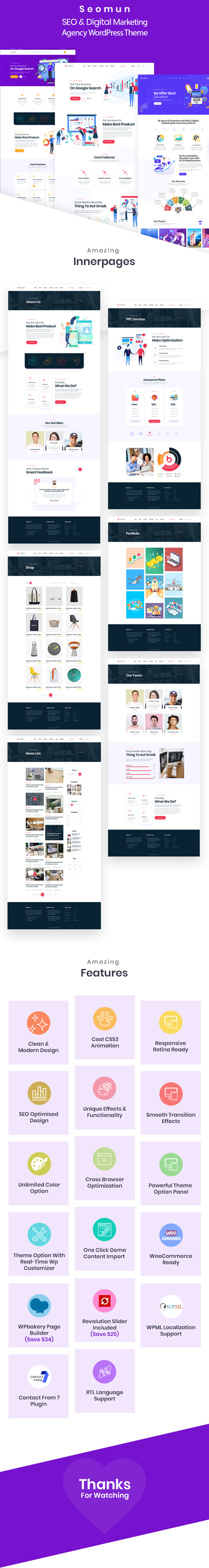SEO & Digital Marketing Agency WordPress Theme