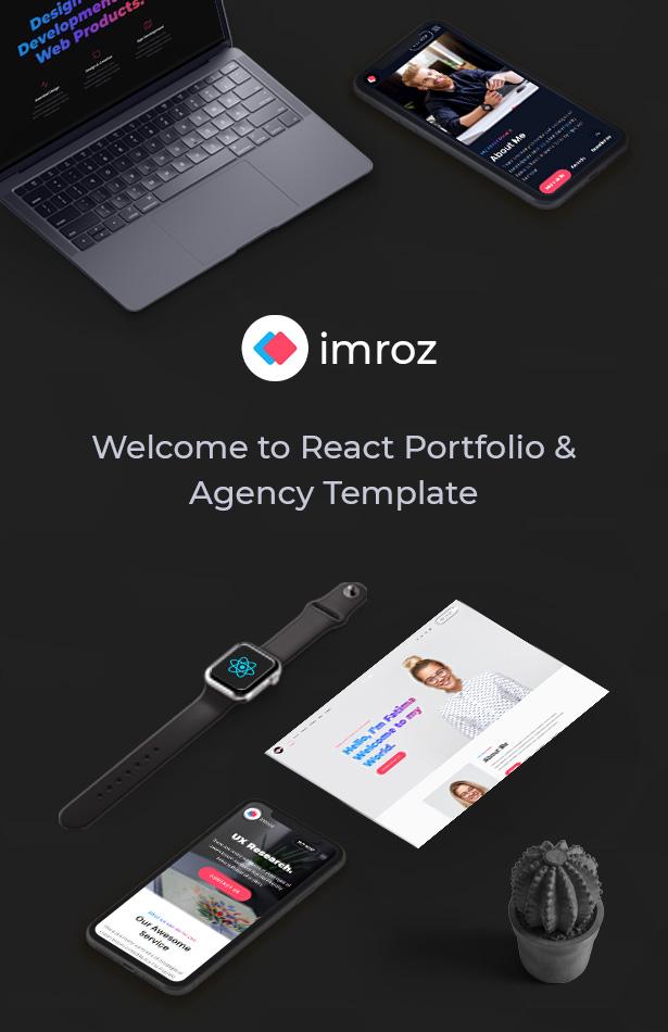 Imroz - React Agency & Portfolio Template - 6