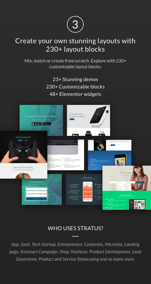 App, SaaS & Software Startup Tech Theme - Stratus - 3