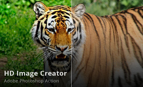 HD Image Creator Photoshop Action