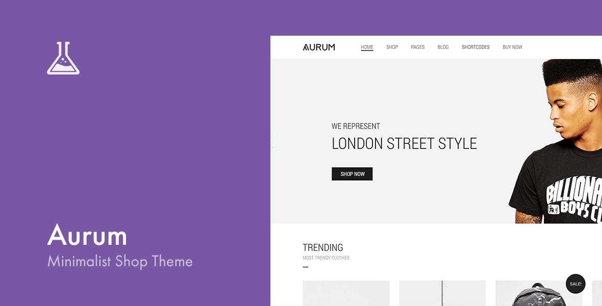 Aurum WordPress and WooCommerce Theme