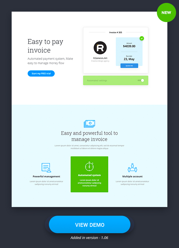 LeadPack Finance Landing Pages