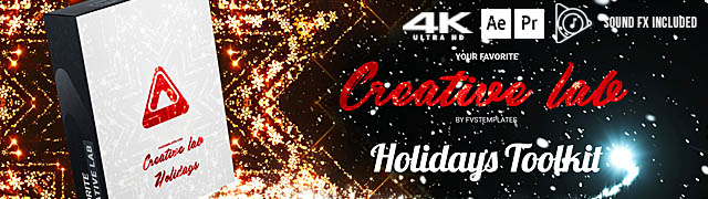 CreativeLab Christmas & New Year 2021 Tookit