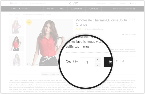 watches responsive theme