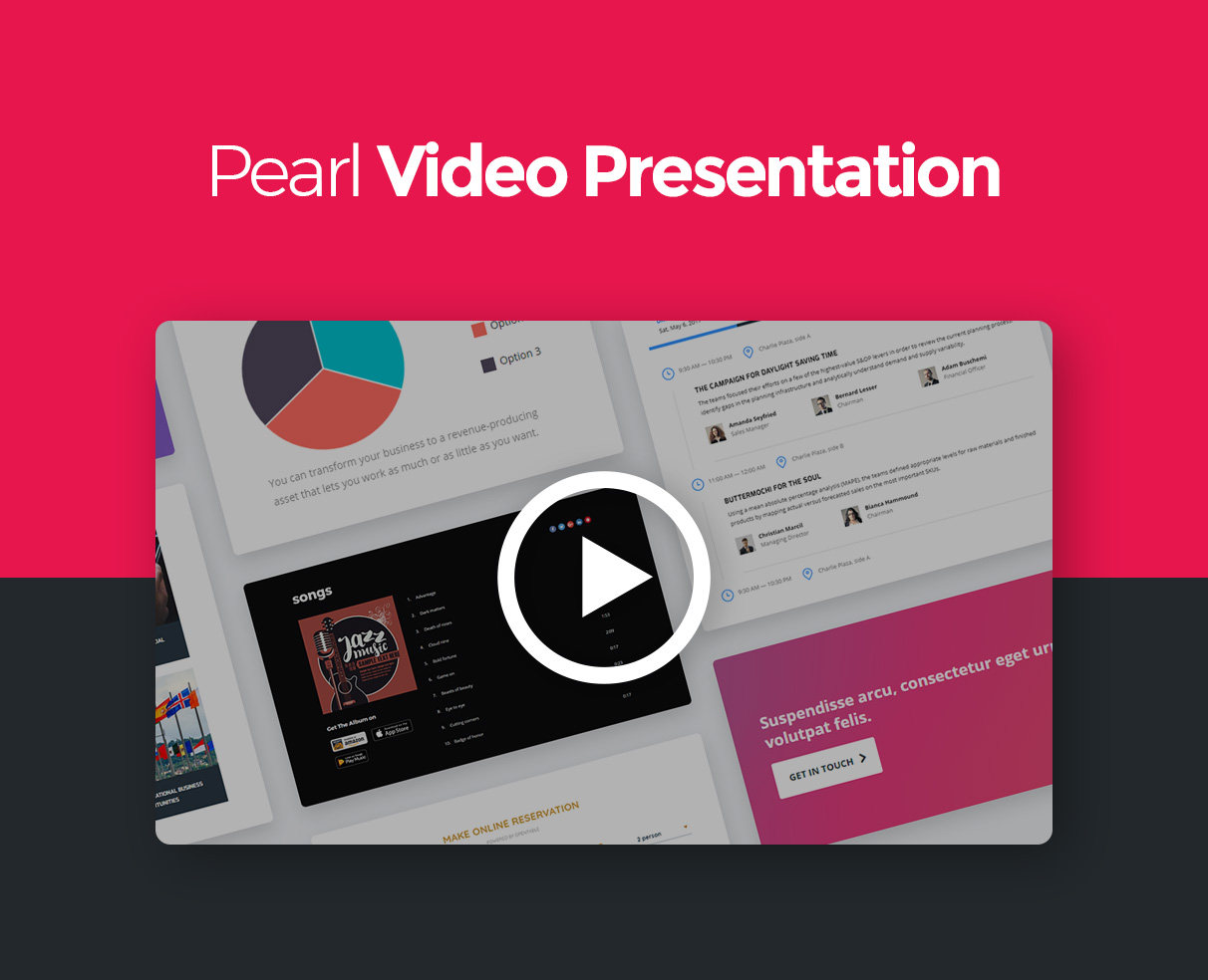 Pearl - Corporate Business WordPress Theme - 1