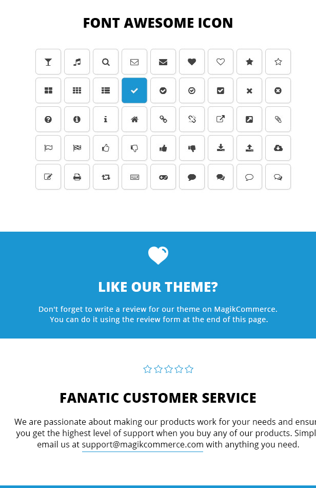 online fashion store theme