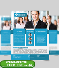 Corporate Business Flyer Template - 2