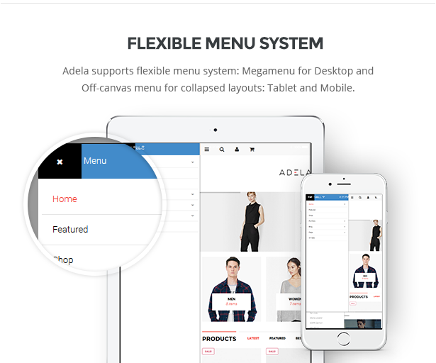 flexible menu system