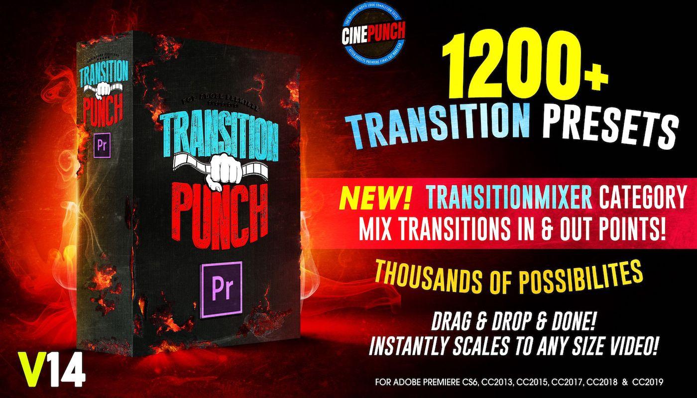 CINEPUNCH - Transitions I Color LUTs I Pro Sound FX I 9999+ VFX Elements Bundle - 101