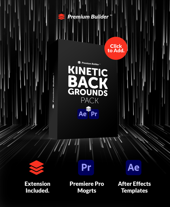 Kinetic Backgrounds Pack - 6