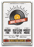 Indie Electronic Flyer/Poster - 14
