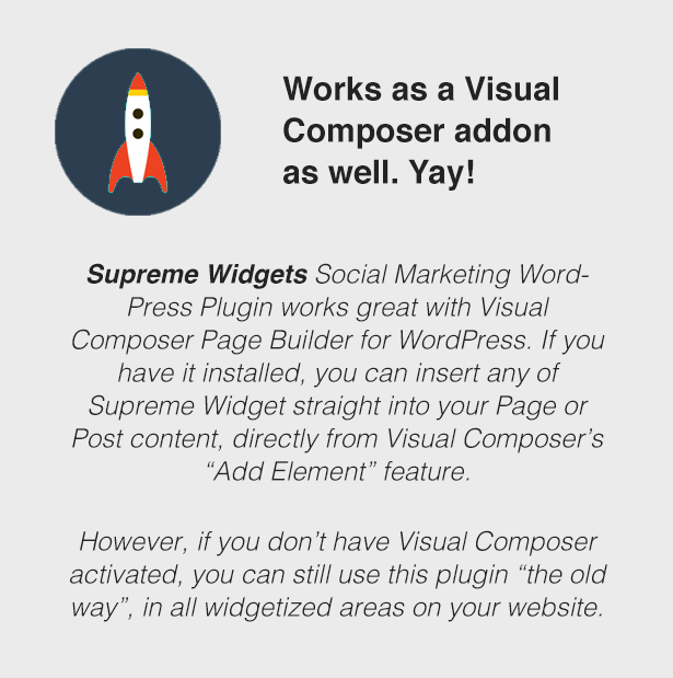 Supreme Widgets WordPress plugin