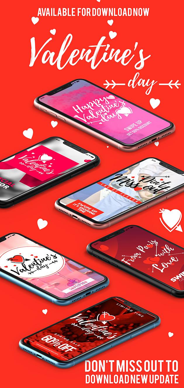Instagram Valentine's Day Unique Stories 2019
